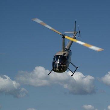 Baptême de l'air hélicoptère en région Bourgogne