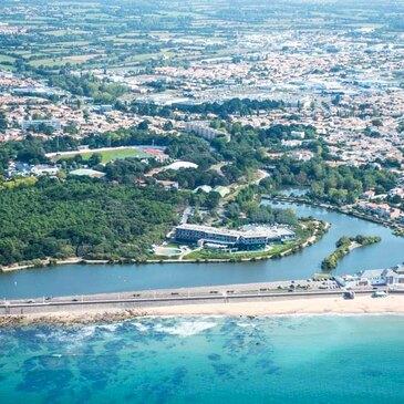 Aérodrome des Sables-d'Olonne, à 30 min de La Roche-sur-Yon, Vendée (85) - Baptême de l'air hélicoptère