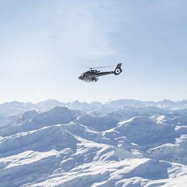 Baptême en Hélicoptère à Albertville - Beaufortain et Mont Blanc