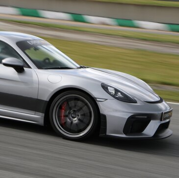 Baptême en Porsche GT4 - Circuit de Dijon-Prenois