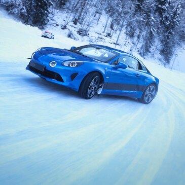 Pilotage sur Glace en Alpine A110 - Circuit d'Abondance