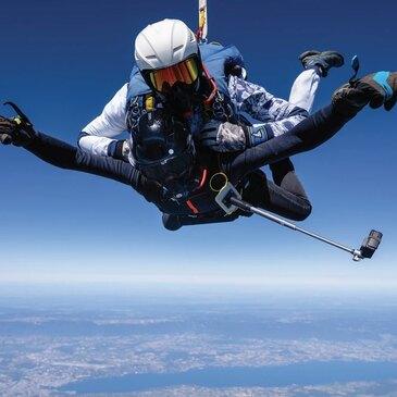 Saut en Parachute depuis un Hélicoptère près de Chambéry
