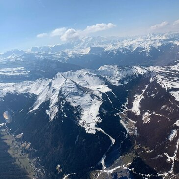 Viuz-en-Sallaz, à 1h de Chambéry, Savoie (73) - Saut en parachute