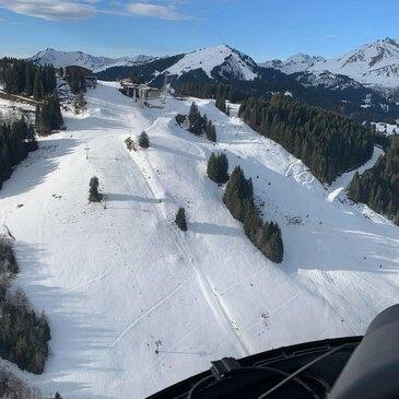 Saut en Parachute depuis un Hélicoptère près de Chambéry en région Rhône-Alpes