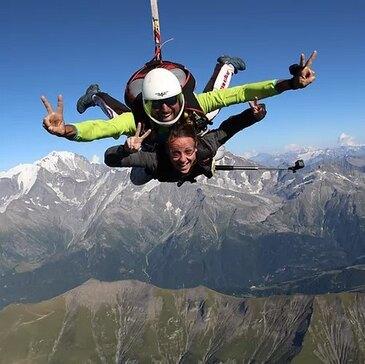 Réserver Saut en parachute en Rhône-Alpes