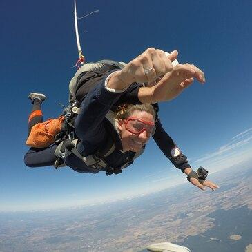 Saut en Parachute Tandem près de Villefranche-sur-Saône