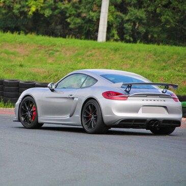 Baptême en Porsche Cayman GT4 Club Sport - Circuit de la Châtre