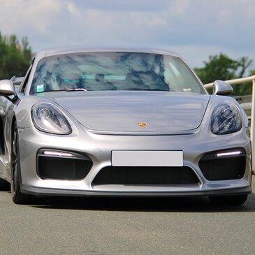 Baptême en Porsche Cayman GT4 Club Sport - Circuit du Mans en région Pays-de-la-Loire