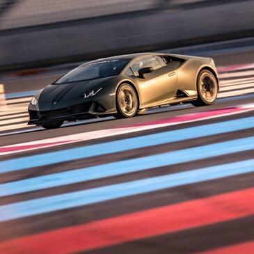 Stage de pilotage Lamborghini, département Hérault