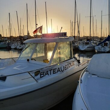 Permis bateau, département Gironde