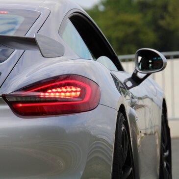 Baptême Porsche Cayman GT4 Club Sport - Circuit du Val de Vienne en région Poitou-Charentes