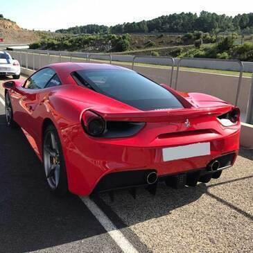Stage de pilotage Ferrari, département Oise