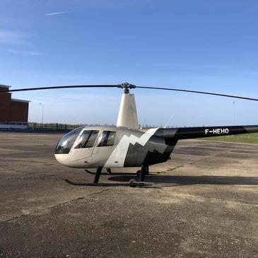 Stage initiation hélicoptère en région Poitou-Charentes
