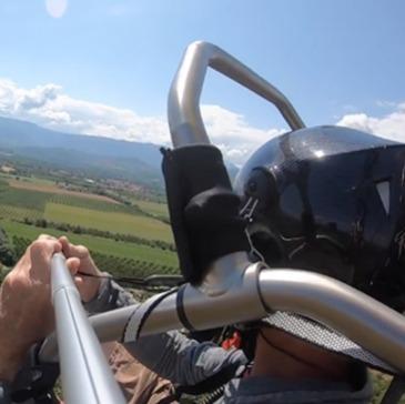 Romans-sur-Isère, Drôme (26) - Baptême de l'air paramoteur