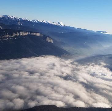 Baptême de l'air paramoteur en région Rhône-Alpes