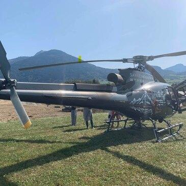 Offrir Saut en parachute département Haute savoie