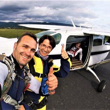 Saut en parachute proche Aérodrome de Vichy-Charmeil, à 1h de Roanne