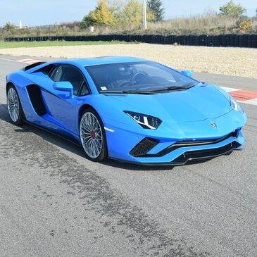 Stage en Lamborghini Aventador S - Circuit de Lédenon en région Languedoc-Roussillon