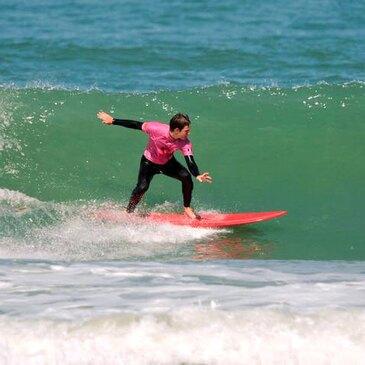Initiation au Surf à La Palmyre près de Royan