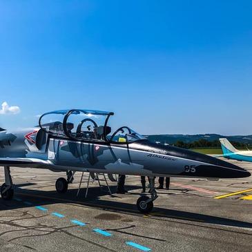 Vol en Avion de Chasse L-39 à Carcassonne