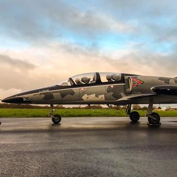 Vol avion de chasse, département Aude