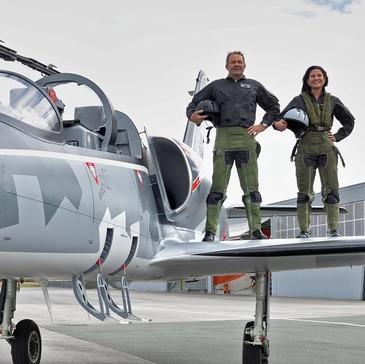 Vol avion de chasse, département Seine maritime