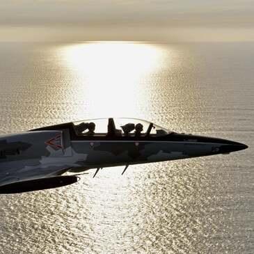 Vol avion de chasse en région Haute-Normandie