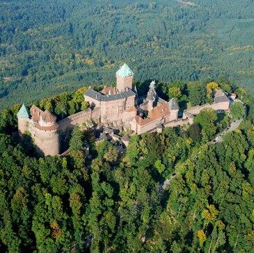 Baptême de l'air paramoteur en région Alsace