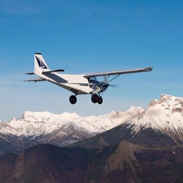 Initiation au Pilotage d'ULM Multiaxe à Sisteron en région Provence-Alpes-Côte d'Azur et Corse