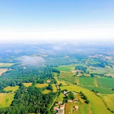 Baptême de l'air paramoteur en région Aquitaine