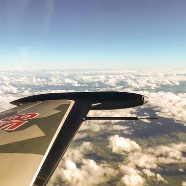 Vol en Avion de Chasse L-39 près de Toulouse