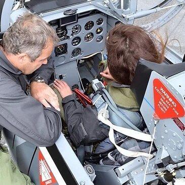 Initiation au Pilotage d'Avion de Chasse près de Toulouse en région Midi-Pyrénées