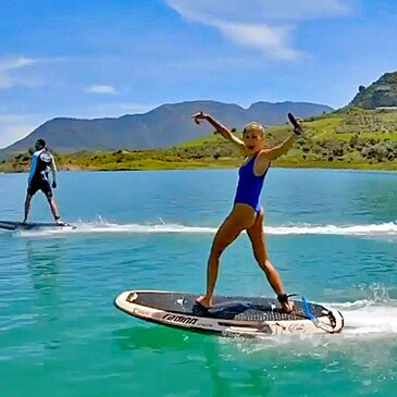 Initiation au Surf Electrique près de Solenzara