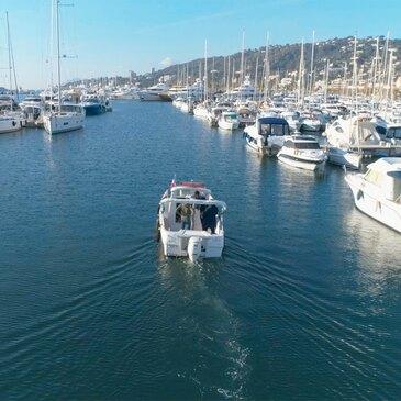 Permis bateau, département Alpes Maritimes