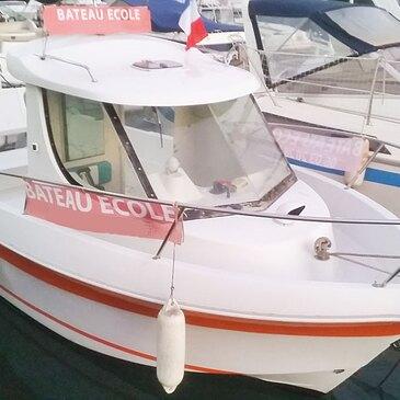 Permis bateau proche Golfe-Juan