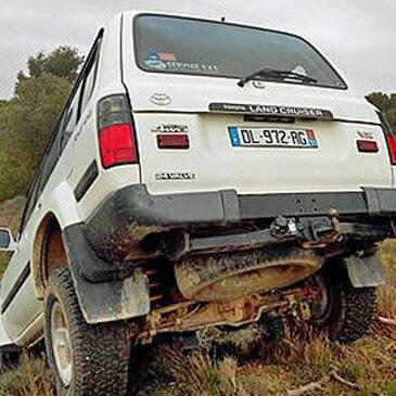 Stage de pilotage 4x4 en région Languedoc-Roussillon