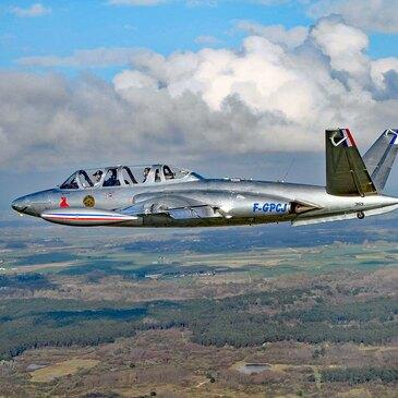 Vol avion de chasse, département Oise
