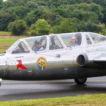 Vol en Avion de Chasse Fouga Magister à Beauvais