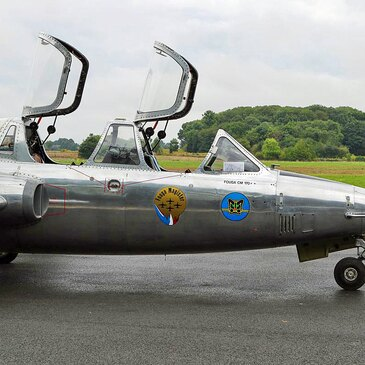 Vol avion de chasse en région Picardie