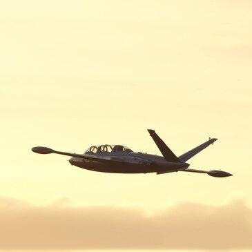 Vol en Avion de Chasse Fouga Magister à Beauvais en région Picardie