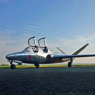 Vol avion de chasse, département Somme
