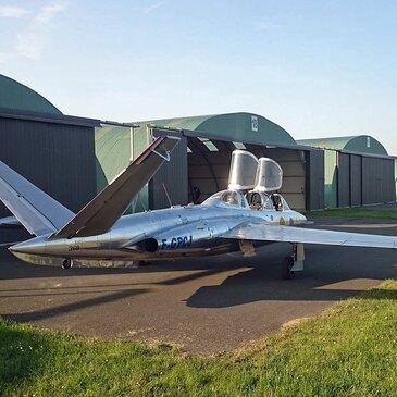 Aérodrome d'Abbeville, Somme (80) - Vol avion de chasse