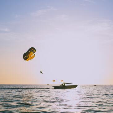 Port Barcarès, Pyrénées orientales (66) - Parachute Ascensionnel