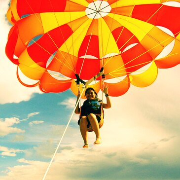Parachute Ascensionnel à Port Barcarès en région Languedoc-Roussillon
