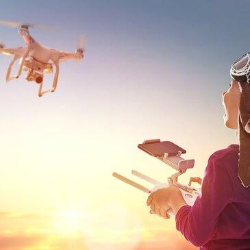 Pilotage de Drone en région Bourgogne