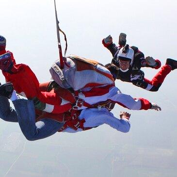 Saut en parachute, département Seine maritime