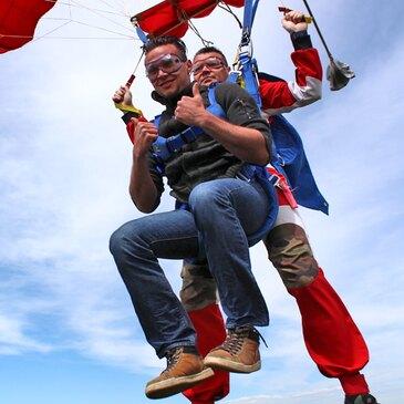 Saut en parachute proche Aérodrome de Dieppe - Saint-Aubin