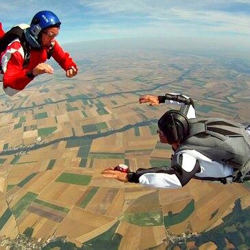 Saut d'Initiation en Parachute à Dieppe