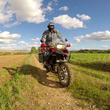 Randonnée en Moto Trail près de Beauvais