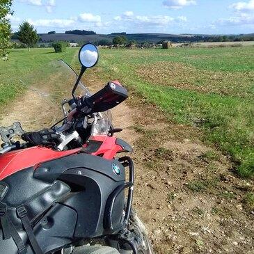 Stage de pilotage moto, département Oise